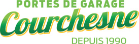Logo Portes de garage Courchesne